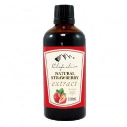 C/C strawberry extract 100ml