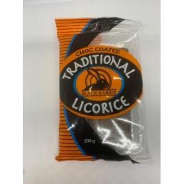 Black Rabbit choc licorice 200