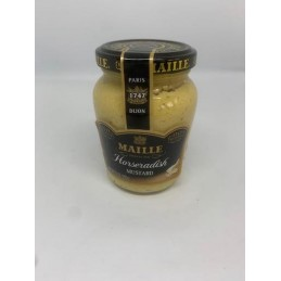 maille horseradish mustar 205g