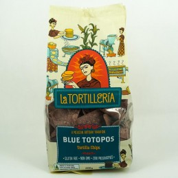 Tortilleria Blue Totopos Chips