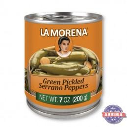 La Morena Pickled Peppers 200g