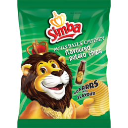 simba - mrs balls chips 125g